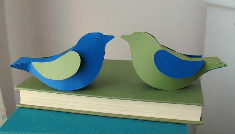 Bluegreen bird pair 3