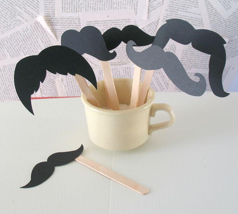 Mustache display