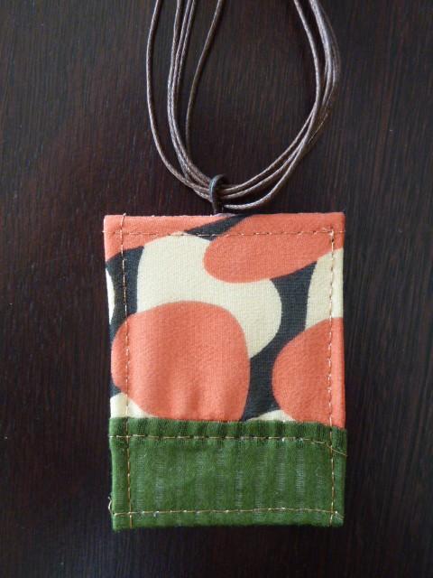 Funky Fabric Pendant