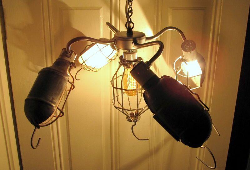 Trouble Light Chandelier - Beautiful Modern