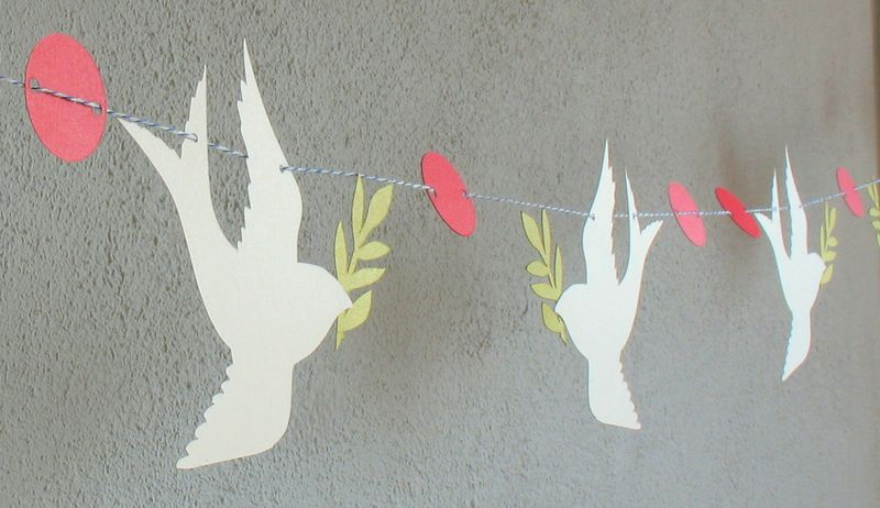 Christmas doves 6